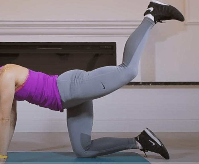 Упражнение 3: Жим ноги вверх 2