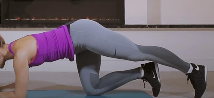 Упражнение 5: Подъем прямой ноги вверх 2
